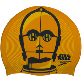 speedo Star Wars Slogan Print Gorra, gold/usa Charcoal/Citreon